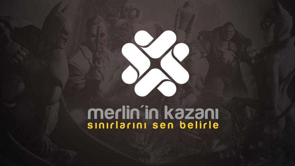 Merlin'in Kazanı Logo